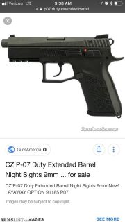 For Trade: Cz p07 duty