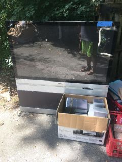 Free tv and surround sound speakers