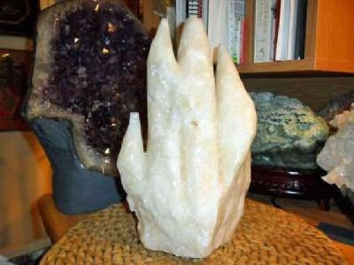Exceptionally a Huge Specimen of Stalagmite and Stalactite Crystal