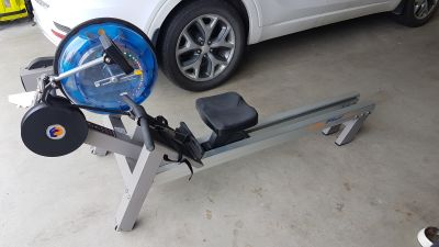 First Degree E-520 Fluid Rower Water Rowing Machine