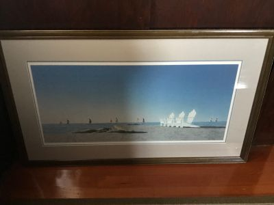 Keith Hiscock Pacific Rim Vintage Framed Print