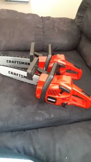 Craftsman kids chainsaws