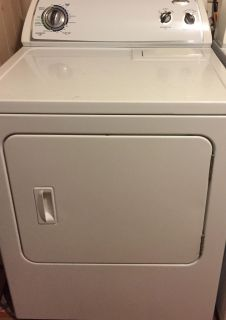 Whirlpool Dryer, in great working condition $75...need gone, no room to store