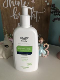 Walmart brand CEREVE face wash hydrating cleanser