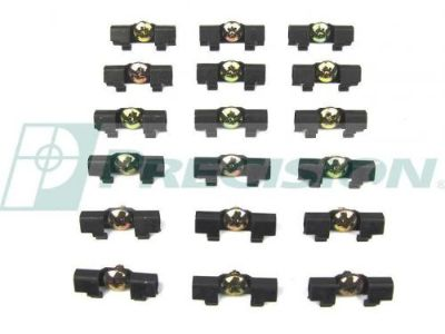 Purchase 1964 1965 Plymouth Belvedere Satellite Savoy Windshield Trim Clip Kit 18 pc. motorcycle in San Diego, California, United States, for US $23.99