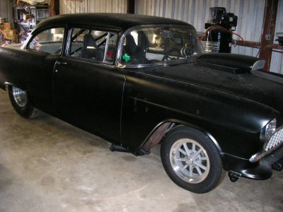 1955 Chevy 2DR Post