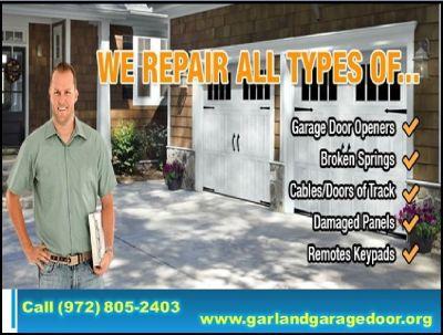 Garland Garage Door   Expert New Garage Door Installation Company