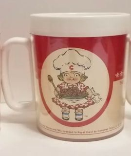 Vintage 1991 Campbell's Soup Plastic Childs Cup. Very Nice Condition
