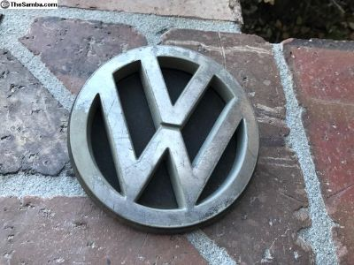 Vanagon rear hatch VW emblem