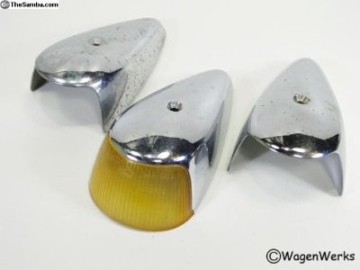 Bug Turn Signal Housing's - 1964 to 1967 Hella