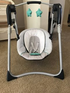 Graco Baby Swing Barely Used