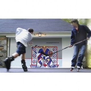 GARAGE DOOR SPORTS HOCKEY TARGET