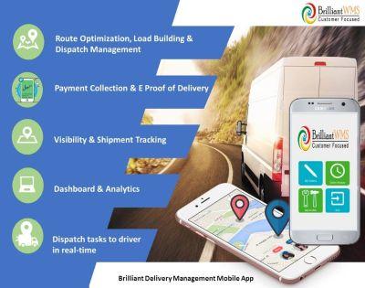 Efficient Delivery Management System software.