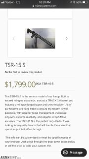 For Sale: NEW TRIARC TSR-15 S