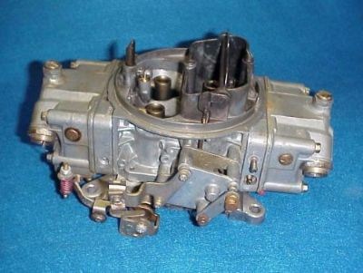 Purchase 4776 HOLLEY DOUBLE PUMP CARB CARBURETOR 600 CFM CHEVY FORD DODGE AMC OLDS BUICK motorcycle in Leo, Indiana, United States, for US $169.00