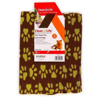 NEW paw print towel for pets