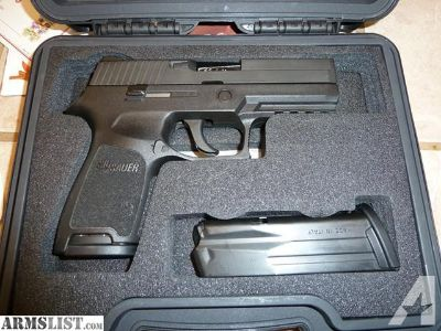 For Trade: Sig Sauer P250 9MM *MINT* with polished barrel for trade
