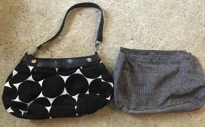 Thirty-One skirt purse with 2 covers
