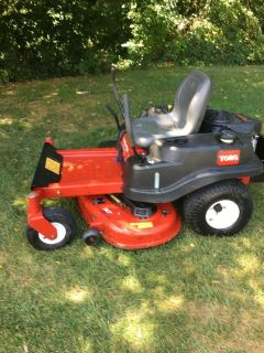 "2015 year GREAT TORO zero turn 23hp. KAWASAKI motor 50"" deck, smart speed 3 system selections"