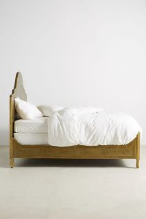 Anthropologie Hand-Embossed Bed, Bronze, Full size