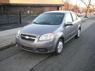2011 Chevrolet Aveo LS (Gray)