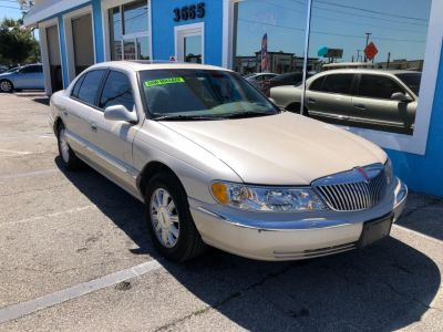 2001 Lincoln Continental Base (White)