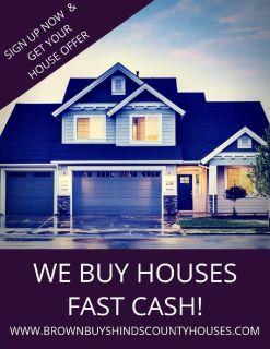 WE BUY HOUSES! FAST CASH!!