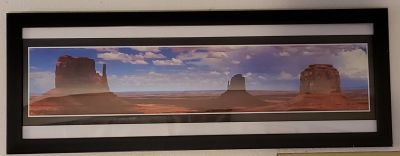 REDUCED Framed Poster Monument Valley