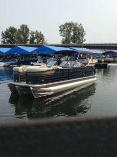 2018 Crest Marine CONTINENTAL 250 SLR 2 Pontoons Boats Ponderay, ID