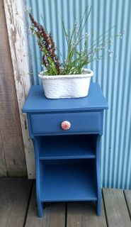 Blueberry Pie Side Table