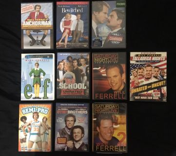 Will Ferrell Movies DVD