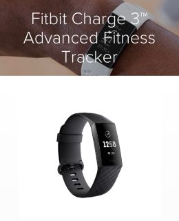 Fitbit charge 3 - like new