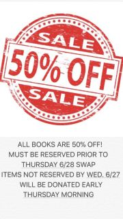 ALL BOOKS ARE 50% OFF! SEE MORE INFO BELOW