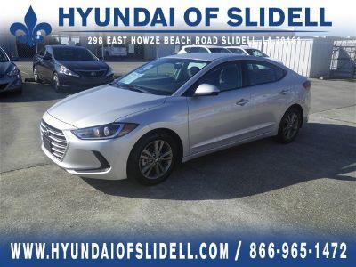 2018 Hyundai Elantra SEL (Symphony Silver)