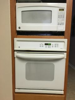 Ge microwave and wall oven