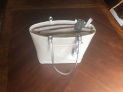 Guess Champange Handbag with separate compartment for Laptop/tablet
