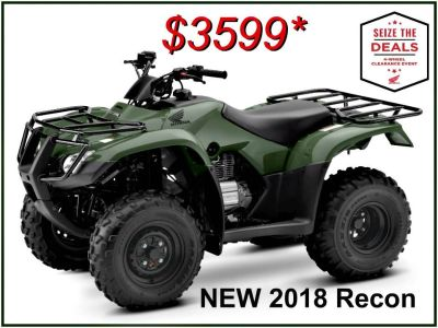 2018 Honda FourTrax Recon Utility ATVs Erie, PA