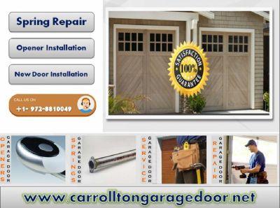Professional Garage Door Installation Company in Carrollton