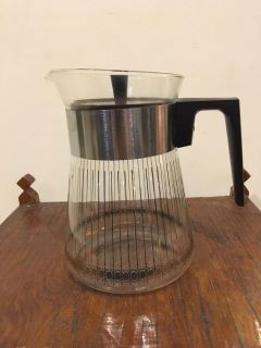 Vintage Pyrex Glass 8 Cup Coffee Carafe