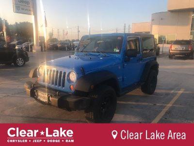 2012 Jeep Wrangler Sport (Cosmos Blue)