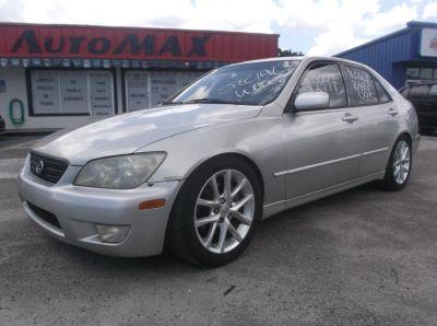 2002 Lexus IS 300 Base (SILVER)