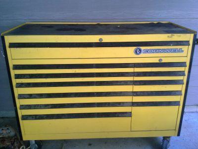 cornwell toolbox full of tools