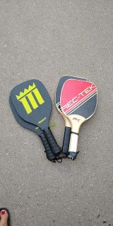2 sets of pickleball rackets