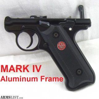 For Sale/Trade: Ruger Mk Iv aluminum grip frame