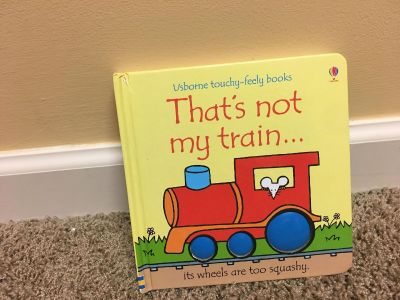 Usborne Touchy-Feely That s Not My Train