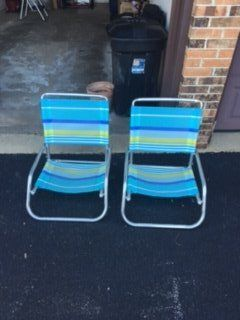 Beach chairs (set of 2)