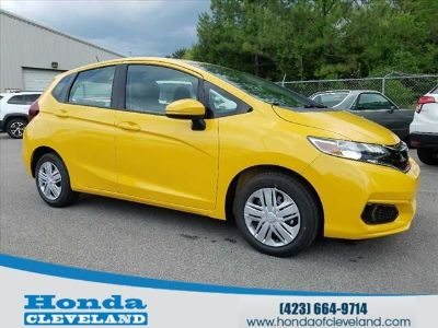 2019 Honda Fit LX (Helios Yellow)