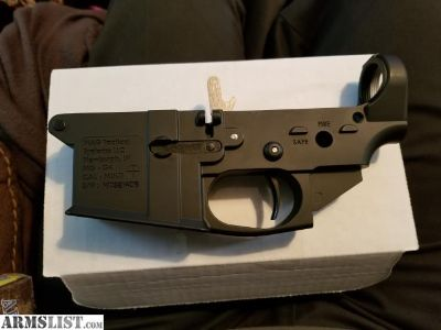 For Sale/Trade: Ar15 lower with a Velocity 3lb drop in Trigger