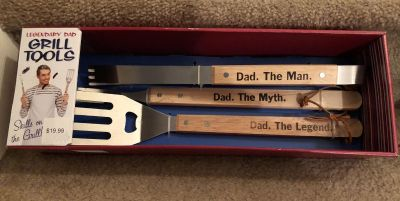 New in Box Legendary Dad Grill Tools