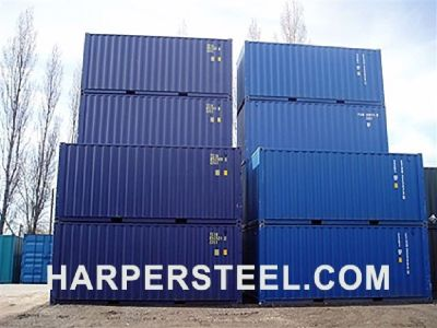 Steel Shipping Containers for Sale, delivered - 10', 20', 40'